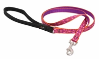"Lupine 1/2"" Alpen Glow 4' Padded Handle Leash"