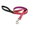 "Lupine 3/4"" Alpen Glow 4' Padded Handle Leash"