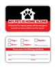 Emergency Pet Card