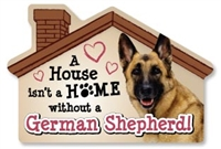 A House Isn't a Home without a German Shepherd Magnet