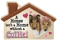 A House Isn't a Home without a Collie Magnet