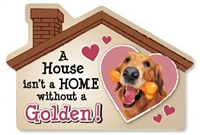 A House Isn't a Home without a Golden Retriever Magnet