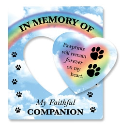 In Memory of my Faithful Companion Picture Frame Magnets