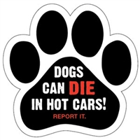 Dogs Can Die in Hot Cars!  REPORT IT.