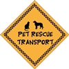 "Pet Rescue Transport Magnet 6"" - YPT21-6"