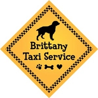 "Brittany Taxi Service Magnet 9"" - YPT5-9"