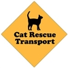 "Cat Rescue Transport Magnet 9"" - YPT6-9"