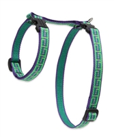"Retired Lupine 1/2"" Atlantis 9-14"" H-Style Cat Harness"