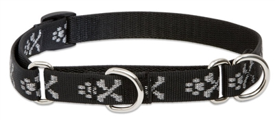 "Lupine 3/4"" Bling Bonz 10-14"" Martingale Training Collar"