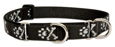 "Lupine 1"" Bling Bonz 19-27"" Martingale Training Collar"