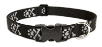 "Lupine Originals 1"" Bling Bonz 25-31"" Adjustable Collar for Medium and Larger Dogs"