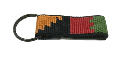 Bison Designs Rasta Key Chain