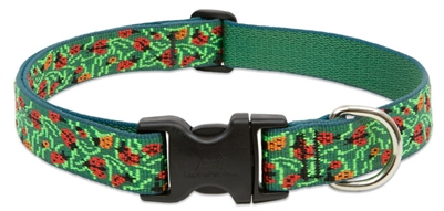 "Retired Lupine Beetlemania 12-20"" Adjustable Collar - Large Dog"