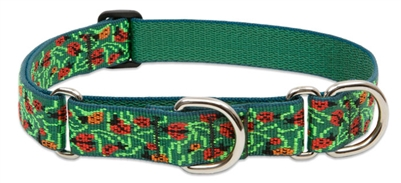 "Retired LupinePet Beetlemania 19-27"" Martingale Training Collar - Large Dog"