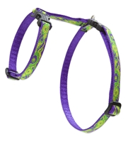 "Retired Lupine 1/2"" Big Easy 9-14"" H-Style Cat Harness"