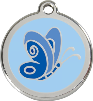 Red Dingo Large Butterfly Tag