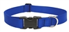 "Lupine Basic Solids 1"" Blue 12-20"" Adjustable Collar for Medium and Larger Dogs"