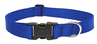 "Lupine 1"" Blue 25-31"" Adjustable Collar"