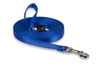"Lupine 1/2"" Blue Training Lead (15' or 30')"