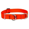 "Lupine 1"" Blaze Orange 15-22"" Martingale Training Collar"