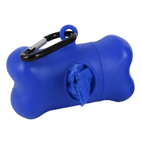 Doggie Walk Bags - Bone Dispenser - Blue