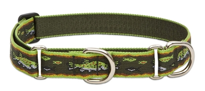 "Lupine 1"" Brook Trout 15-22"" Martingale Training Collar"