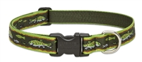 "Lupine Originals 1"" Brook Trout 25-31"" Adjustable Collar for Medium and Larger Dogs"