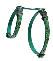 "Retired Lupine 1/2"" Beetlemania 12-20"" H-Style Cat Harness"