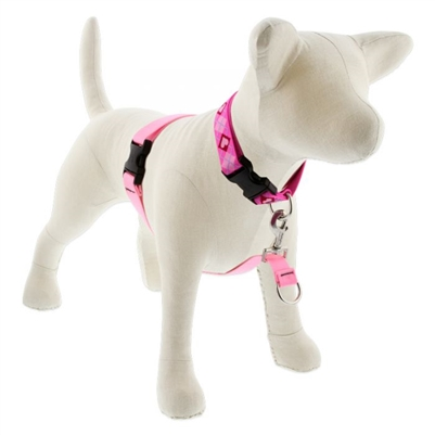 "Lupine 1"" Pink 26-38"" No-Pull Harness"