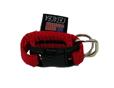 Cetacea Tag-It (Pet ID Tag Holder) Red