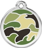 Red Dingo Medium Camouflage Tag