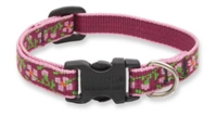 "Retired Lupine 1/2"" Cherry Blossom 6-9"" Adjustable Collar"