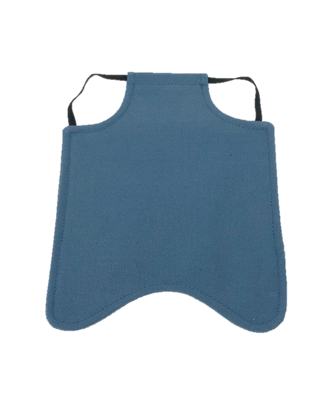Hen Saver Single Strap Chicken Apron/Saddle, Large, Denim