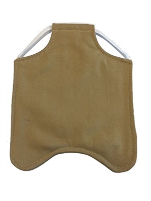 Hen Saver Single Strap Chicken Apron/Saddle, Medium, Khaki
