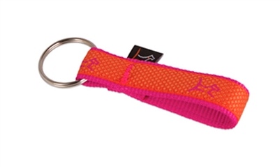 "Lupine Club 3/4"" Sunset Orange Keychain"