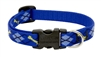 "Lupine 1/2"" Dapper Dog 10-16"" Adjustable Collar"