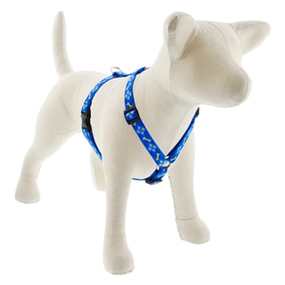 "Lupine 3/4"" Dapper Dog 12-20"" Roman Harness"