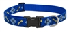"Lupine Originals 1"" Dapper Dog 16-28"" Adjustable Collar for Medium and Larger Dogs"