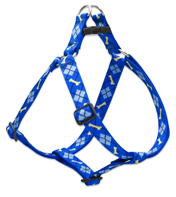 "Lupine 1"" Dapper Dog 24-38"" Step-in Harness"
