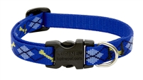 "Lupine 1/2"" Dapper Dog 6-9"" Adjustable Collar"