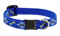 "Lupine 1/2"" Dapper Dog Cat Safety Collar"