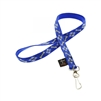 "LupinePetPet Original Design 1/2"" Dapper Dog Lanyard"