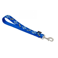 "Lupine 1"" Dapper Dog Training Tab"