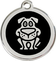 Red Dingo Medium Dog Tag