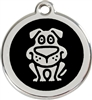 Red Dingo Small Dog Tag