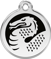 Red Dingo Small Dragon Tag