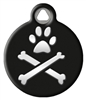 Dog Tag Art Lupine Bling Bonz - DTA-12103