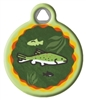 Dog Tag Art Lupine Brook Trout - DTA-12124