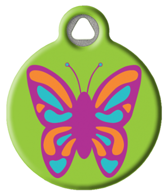 Dog Tag Art Lupine Butterfly - DTA-MB685