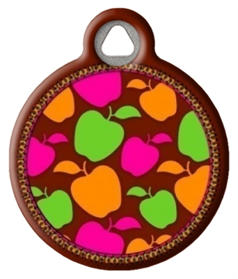 Dog Tag Art Lupine Candy Apple DTA-25602